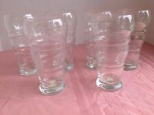 PRINCESS HOUSE Heritage #357A ICE CREAM SODA/SUNDAE GLASSES SET OF 6 NEW
