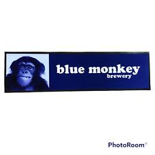 Blue Monkey Brewery Rubber Backed Pub Bar Runner Beer Mat Home Bar Man Cave