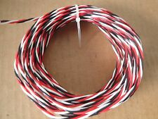30 Ft 20 Awg 3 Conductor Twisted 600V Silver Plated Copper Teflon Wire
