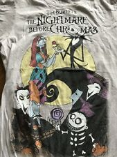 Tim Burton's The Nightmare Before Christmas Junior's Graphic T-Shirt Size M
