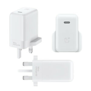 Official OnePlus 65W Warp Charge Power Adapter Mains Plug Head Only (No Cable)