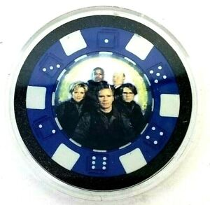 Stargate SG1 Poker Chip Souvenir Collectable (B5)