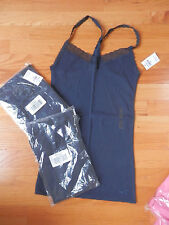 NWT Hollister Imperial Beach Tank Top Large Navy Blue by Abercrombie