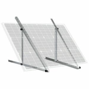 Verstellbarer Winkel Solarpanel Einbaurahmen Halterungen Schuppen Boot Boden