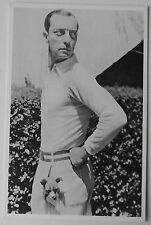 Carte postale Buster Keaton, dog in trousers,son chien dans la poche  postcard