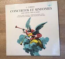 LP Stereo G. Torelli Concertos et sinfonies Maurice André Huguette Fernandez *