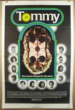 TOMMY 1975 Authentic One Sheet Movie Poster Roger Daltrey Ann-Margaret