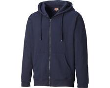 Dickies Redwood Hoodie Mens Full Zip Hooded Work Sweatshirt Jumper SH11500