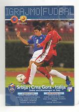 Orig.PRG   EM Qualifikation  10.09.2003    SERBIEN und MONTENEGRO - ITALIEN  !!