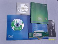 Microsoft Plus for Windows XP Upgrade + Office One Note w/Product Key
