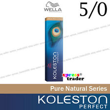 "Wella Koleston Perfect Permanent Hair Color Dye 60g Pure Naturals "" 5/0 """