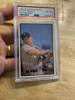 Mickey Mantle PSA 8 NM 1989 Bowman INSERT Card Vintage Jumbo Beauty NR INVEST