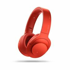 Sony MDR100ABN Over the Ear Wireless Headphone - Red