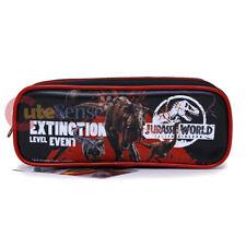 Jurassic World Pencil Case Zippered Bag Extinction Level Event