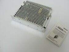 New Omron Power Supply, S82R-5527, 100-240VAC, 12VDC, 3A, 1.2A