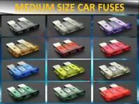 120PCS AUDI CARS MEDIUM BLADE TYPE ASSORTED FUSE BOX