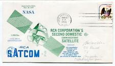 1976 Satcom RCA Corporation's Second Domestic Communicatons Satellite NASA USA