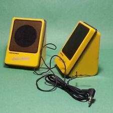 Memorex Color Mates Computer Speakers Impedance 8 ohms Input 259 mW