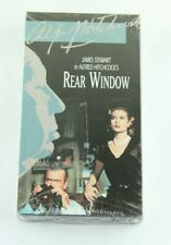 Alfred Hitchcock's Rear Window VHS James Stewart Grace Kelly Cornell Woolrich