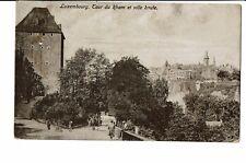 CPA - Carte Postale -Luxembourg --Tour de Rham et ville haute-1924- S3348