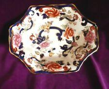 Vintage Mason's Ironstone Blue Mandalay trinket/small serving dish