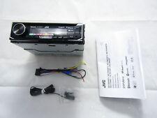 JVC KD-T900BTS In-Dash CD Receiver Built-in Bluetooth Detachable Faceplate VG