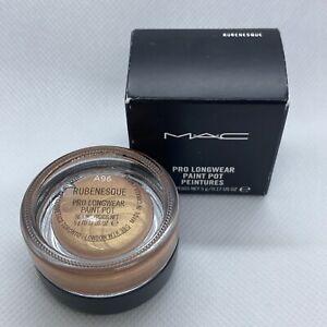 MAC Pro Longwear Paint Pot, RUBENESQUE, Authentic New In Box.17 oz