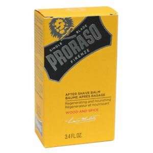 Proraso Wood & Spice After Shave Balm 100ml Hydrates Revitalizes Skin
