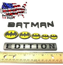 BATMAN FAMILY EDITION Emblem Exterior Interior Deluxe CAR TRUCK LOGO DECAL SIGN