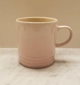 Le Creuset Stoneware Mug Cup, 12oz 350ml, Shell Pink - Retired, New