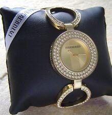 Dyrberg/Kern Uhr TZARE Gold  / CRYSTAL SALE 21% OFF OVP 365