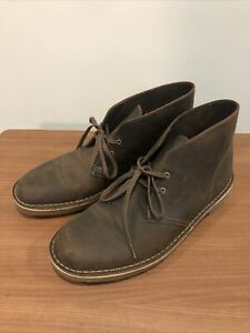 Clarks Men's Bushacre 2 Boot Beeswax Leather Size 9.5 - Brown