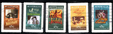 stamps Australia A485(5) Poster Scenes, Set