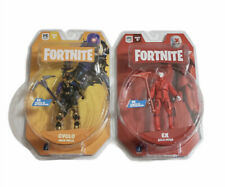 """Lot 2021 Fortnite Solo Mode Ex + Cyclo 4"""" Action Figure Jazwares Brand New"""