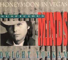 Dwight Yoakam - Suspicious Minds (+ Hound Dog - Jeff Beck ) CD Single Australia