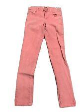 ZARA Girls Pink Cotton Denim Jeans Collection Size US 11/12 152 cm Stains