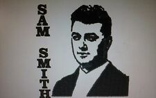 "LOVELY EMBROIDERED IMAGES TOWEL SET ""SAM SMITH"" 3 PICE SET HAND ,BATH & FLANNEL"