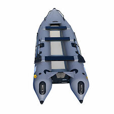 BRIS 14.1Ft Inflatable Kayak Boat Fishing Tender Poonton Inflatable Canoe Boats