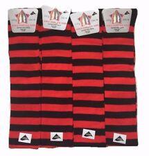 Ladies Over Knee high Striped Design Horse riding Rainbow Socks Christmas Gift