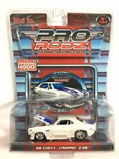 Maisto Pro RodZ 68 1968 Chevy Camaro Z28 White Die Cast 1/64 Scale Opening Hood!