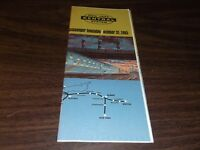 OCTOBER 1965 NYC NEW YORK CENTRAL SYSTEM PUBLIC TIMETABLE