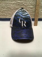 MLB! 🧢 Colorado Rockies Baseball Hat Cap New Era 9 forty Adjustable Youth EUC!