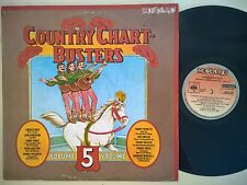 DISCO LP COUNTRY CHART-BUSTERS  V. 5 - COMPILATION MUSICA PIU 1983 EMB 31821 VG+