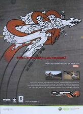 PGR4 Project Gothem Racing Xbox 360 2007 Magazine Advert #2566