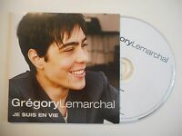 GREGORY LEMARCHAL : JE SUIS EN VIE [ CD SINGLE ]