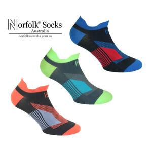 2 x Norfolk® Mens Low-Cut Running Sock Ultra Light - Sebastian