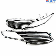 New Chrome Radiator Mesh Main Upper Vent Grille fit for  2013-2015 Lincoln MKZ