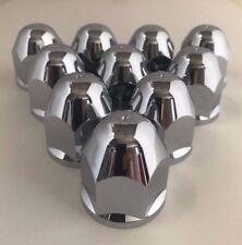 "Alcoa 1-1/16"" HexFlange Chrome Lug Nut Covers for 16"" & 19"" factory wheels 10pk"