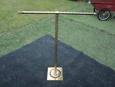 Vintage Towel Stand/ Quilt Blanket Rack Gold Brass Hollywood Regency