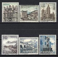 Espagne 1964 Yvert n° 1273 à 1278 série touristique neuf ** 1er choix